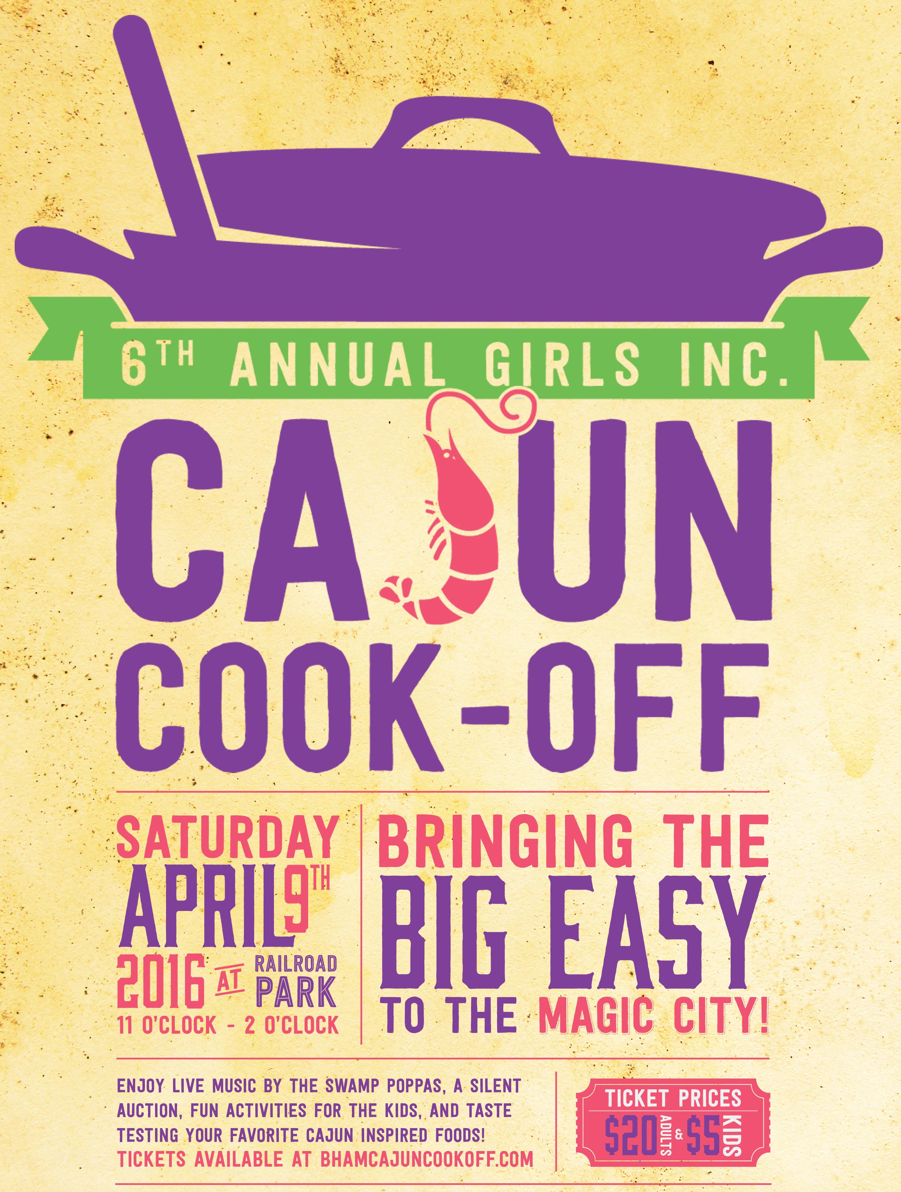 Cajun Cook-off 2016 Poster