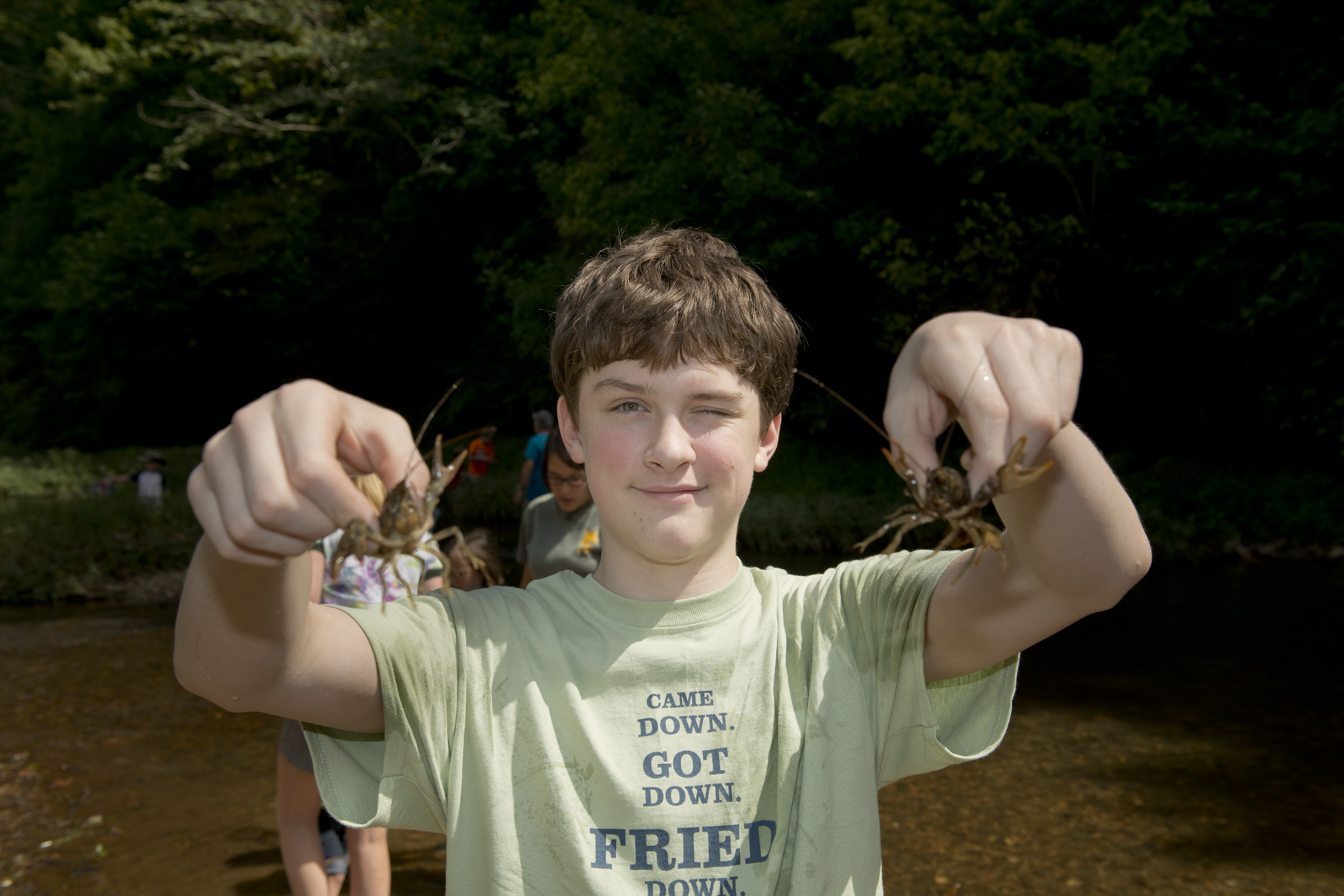 Cahaba crayfish found at Trussville Springs